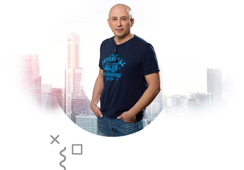 Gil Troper - Graphic designer